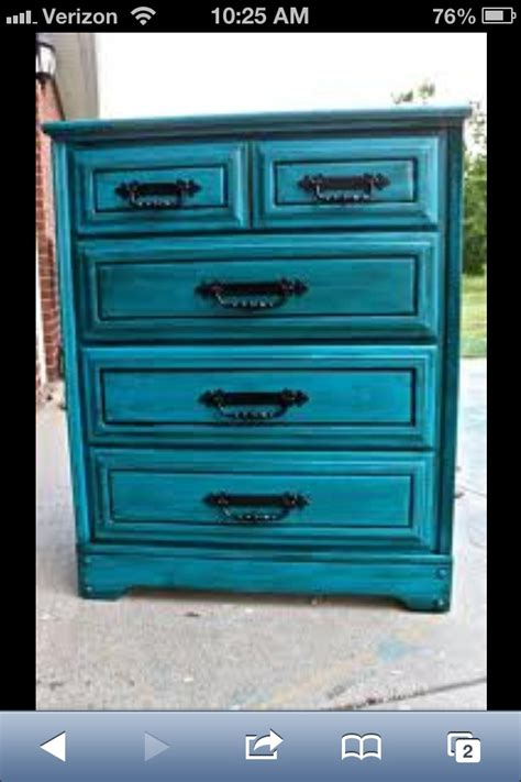 Blue Distressed Dresser by Distressed Blue Dresser Blue Dresser Project