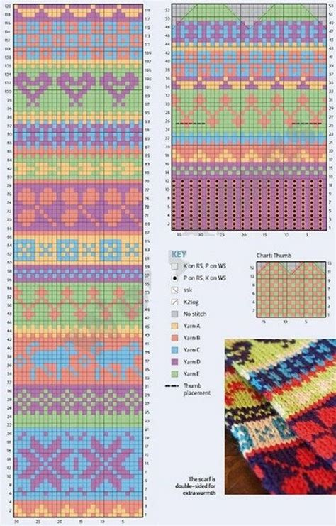 fair isle pattern dress next 1704 best knitted mittens images on pinterest knit