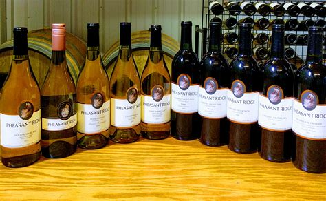 tasting room wine club reviews pheasant ridge winery