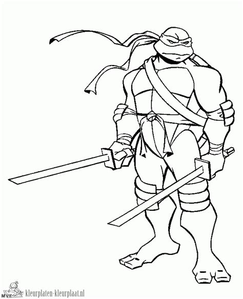 Leonardo Coloring Pages free turtles leonardo coloring pages
