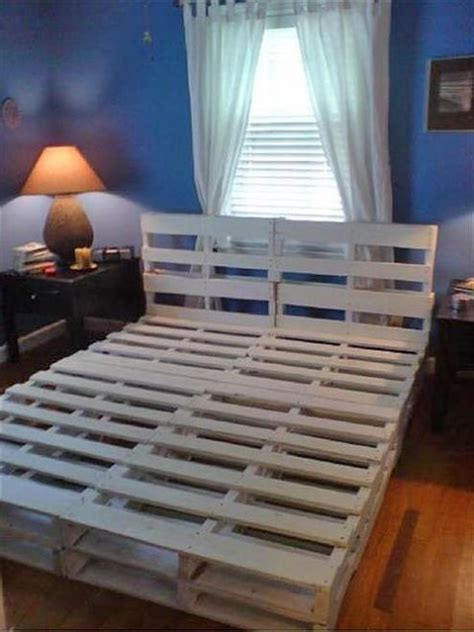 diy pallet bed with storage tutorial beds made from pallets creativemindspromo