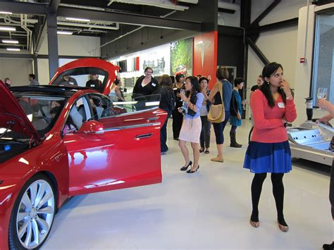 Tesla Silicon Valley Geeks Descend On Tesla In Silicon Valley Fresh