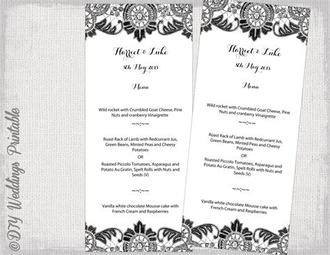 posh menu template home menu templates images