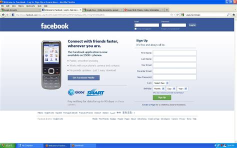 fb free data free facebook tm and globe blogmytuts