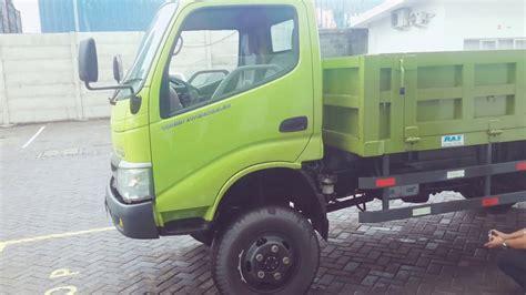 Hino Dutro 130 Hd 4x4 hino dutro modifikasi 4x4 dump standart