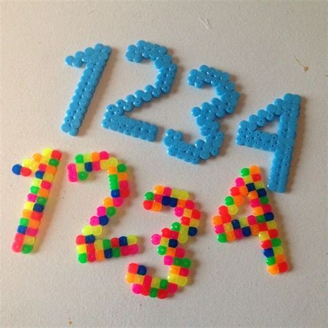 perler bead numbers 65 best images about birthday hama perler on