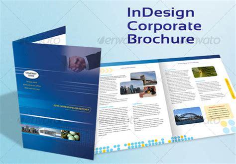 indesign business card template a4 30 modern business brochure templates brochure idesignow