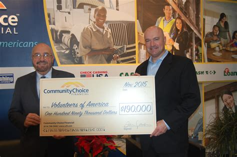 community choice financial   news releases