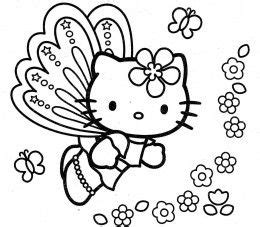 hello kitty fairy coloring page 158 best images about hello kitty coloring pages on