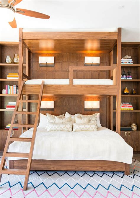 bunk bed with desk for adults why bunk beds are a design do architectural digest