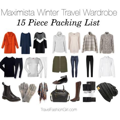 Winter Wardrobe Checklist by Maximista Winter Travel Wardrobe Polyvore