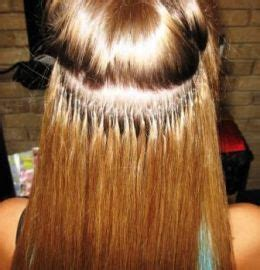 hair extension application applying fusion hair extensions weft hair extensions