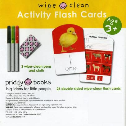Numbers Learn To Write Wipe Clean Activity Book learn to write your numbers 123 activity flash cards wipe clean series by roger priddy