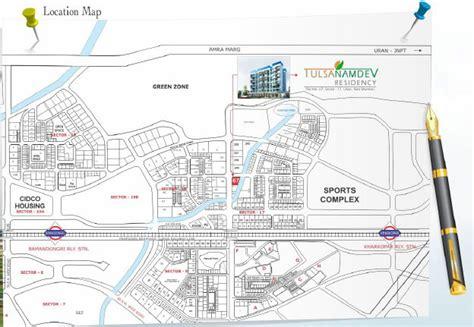 layout plan sector 17 ulwe overview tulsa namdev residency bathija developers at