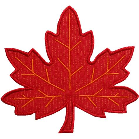 leaf applique maple leaf applique design