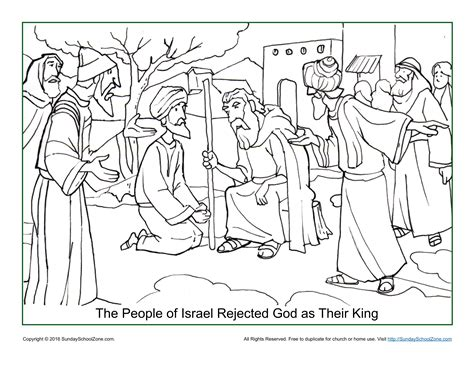 printable lyrics to nobody greater israel rejected god as their king coloring page bible
