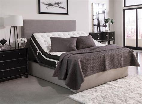 montclair casual black full adjustable bed base  bed frames price busters furniture