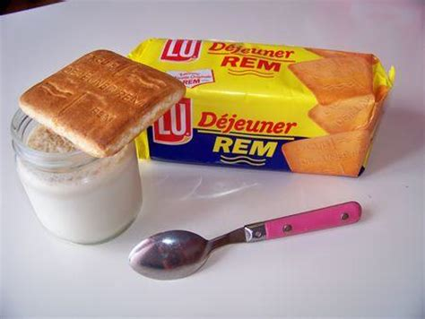 recette yaourts aux rem biscuits lu 750g