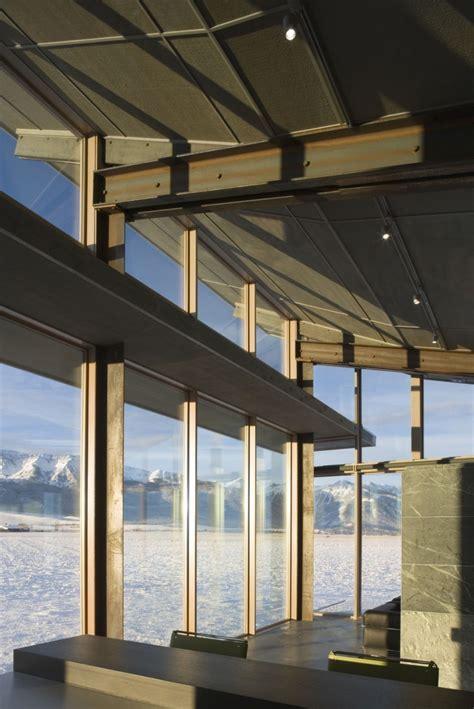 Interior Light Shelf by Glass Farmhouse Design By Kundig Architects