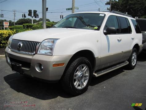 how it works cars 2005 mercury mountaineer navigation system 2005 mercury mountaineer v8 awd in oxford white j02304 all american automobiles buy