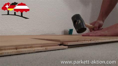 Parkett Auf Fußbodenheizung Verlegen by Klicksystem Auf Fu 223 Bodenheizung Verlegen Parkett