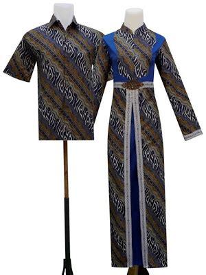 Gamis Non Katun Nk 70 tata batik sarimbit
