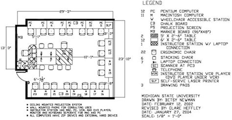 computer lab floor plan changed contexts for writing gt teaching digital writing