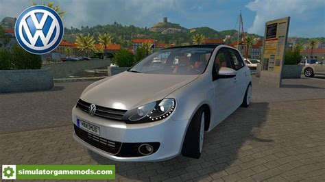 ats volkswagen voiture car mod  simulator games mods