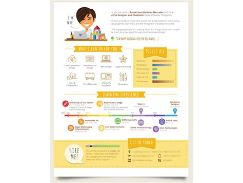 Infographic Resume Builder by Flywheel 7 Inspiring Infographic Resumes