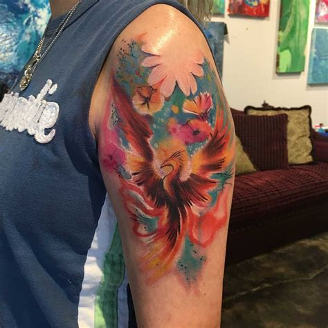watercolor tattoo long island watercolor tattoos last this it depends on some
