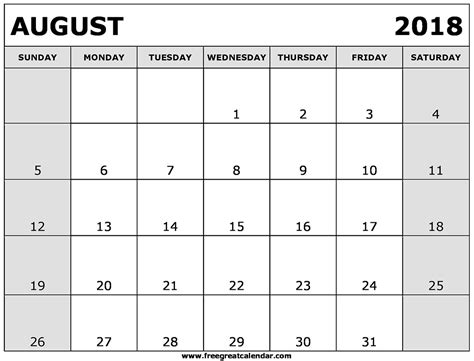 free printable yearly calendar templates 2018 expinmedialab co
