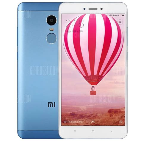 Promo Xiaomi Redmi Note 4x 4 64 Snapdragon Blue Limited Edition 150 with coupon for xiaomi redmi note 4x 4g phablet 64gb