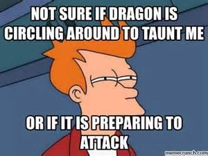 Dragon Memes - skyrim dragon taunts