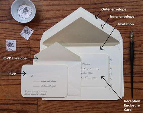 Envelope Etiquette For Wedding Invitations