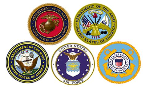 military branch logos us military logos all branches stiggy s dogs 501 c 3