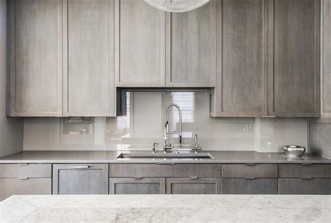 grey stained kitchen cabinets gray kitchen cabinets with quartz countertops quicua com