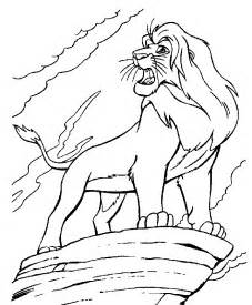 lion king coloring pages coloring pages print