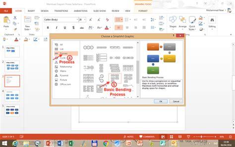 proses membuat presentasi video teknik membuat diagram proses dengan cepat di powerpoint
