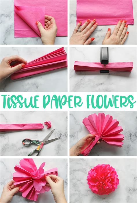 Learn How To Make Paper Flowers - the craft patch tissue paper flowers the ultimate guide