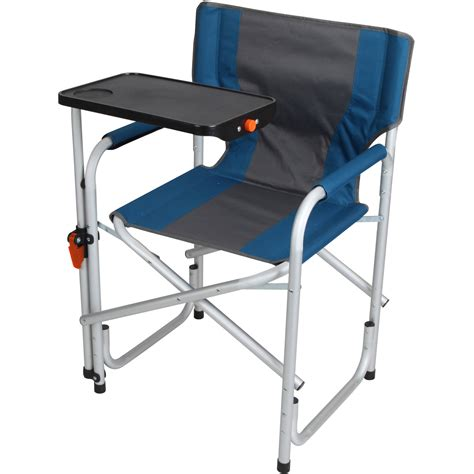 Lawn Chair With Table Portable Folding Aluminum Lawn Patio Director Chair With