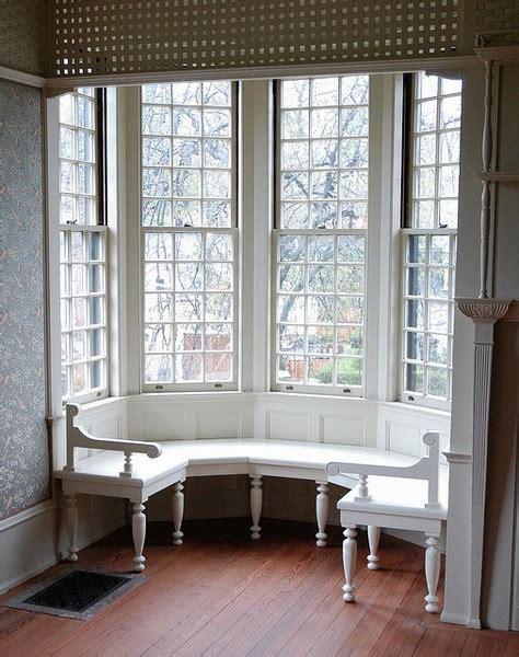 white window bench interior design ideas