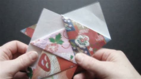 How To Make Spinning Tops Out Of Paper - how to make an origami spinning top