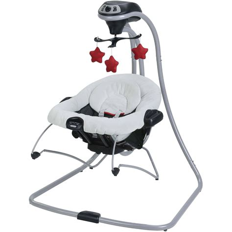 graco swing bouncer combo graco duetconnect lx swing and bouncer manor walmart com