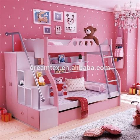 hot sale kids bunk bed  kid children double deck bed