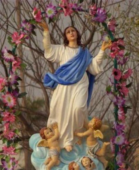 imagenes de la virgen maria asuncion la virgen de la candelaria y dibujo en caricatura de ella