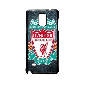 Liverpool Fc Logo Galaxy Note 4 Custom Flip Cover shop liverpool phone on wanelo