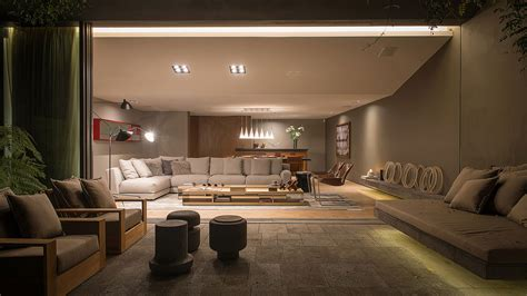 Indoor Outdoor Living Room by This Living Room Transforms Seamlessly From The Indoor To