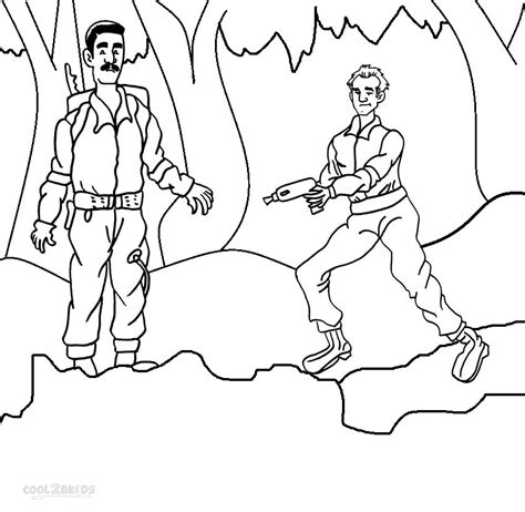 coloring pages ghostbusters printable ghostbusters coloring pages for kids cool2bkids