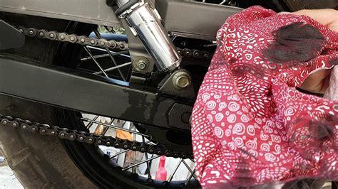 motosiklet zincir temizligi ve basit bakim youtube