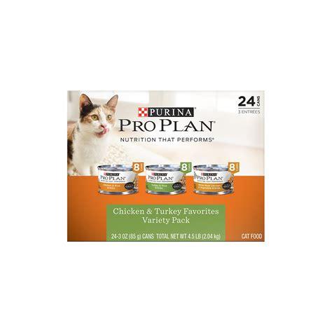 Proplan Cat Adlt Chicken 1 purina pro plan chicken turkey favorites variety pack cat food petco